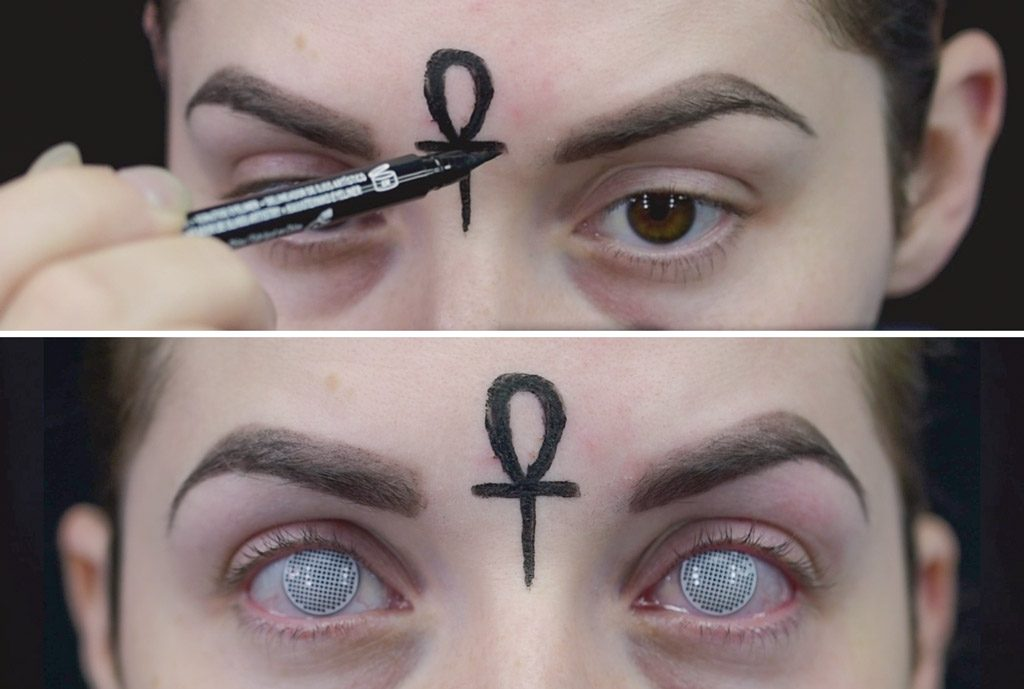 Goth Glam Witch Makeup Tutorial Wholesale Halloween Costumes Blog