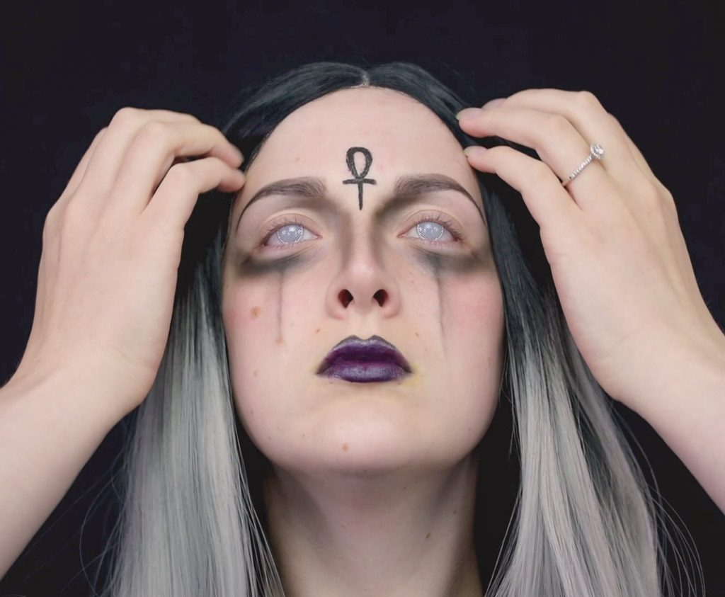 Goth Glam Witch Makeup Tutorial Whole Costumes Blog