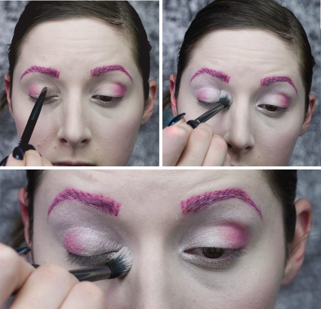 Sugar Plum Fairy Makeup Tutorial Step 3