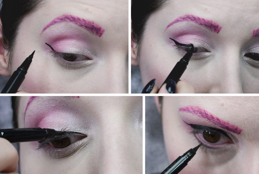 Sugar Plum Fairy Makeup Tutorial Step 4