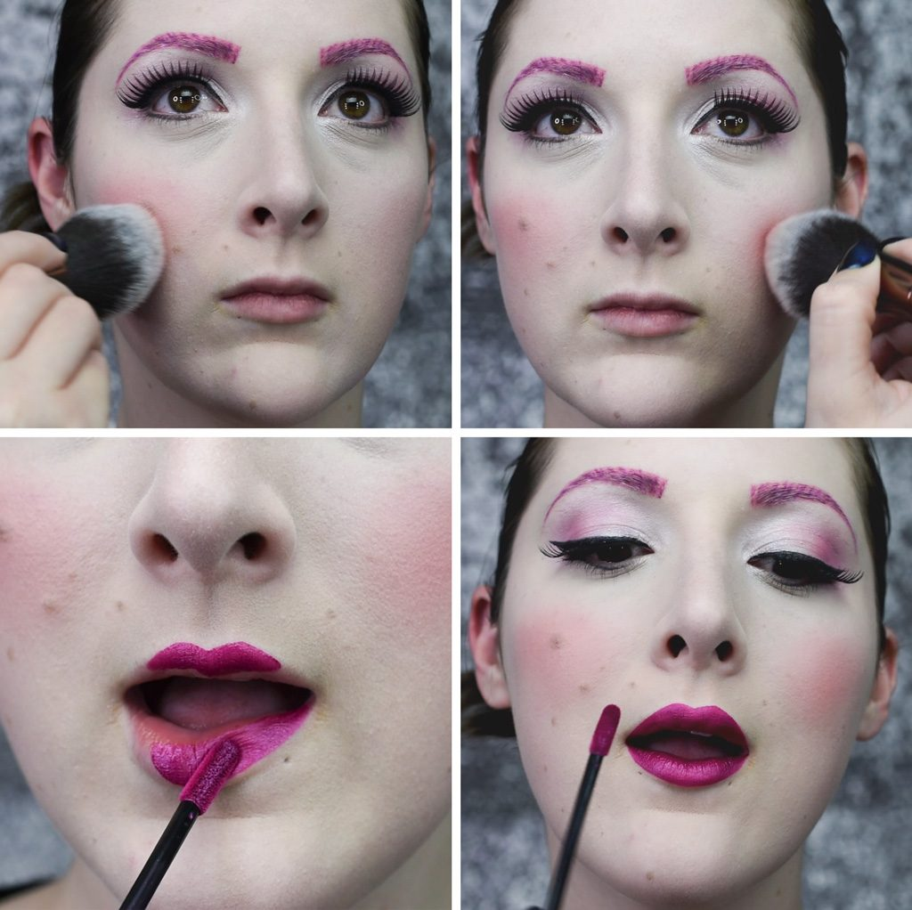 Sugar Plum Fairy Makeup Tutorial Step 5