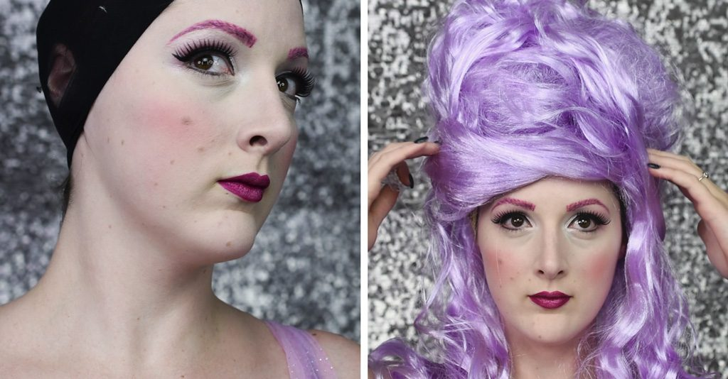 Sugar Plum Fairy Makeup Tutorial Step 6