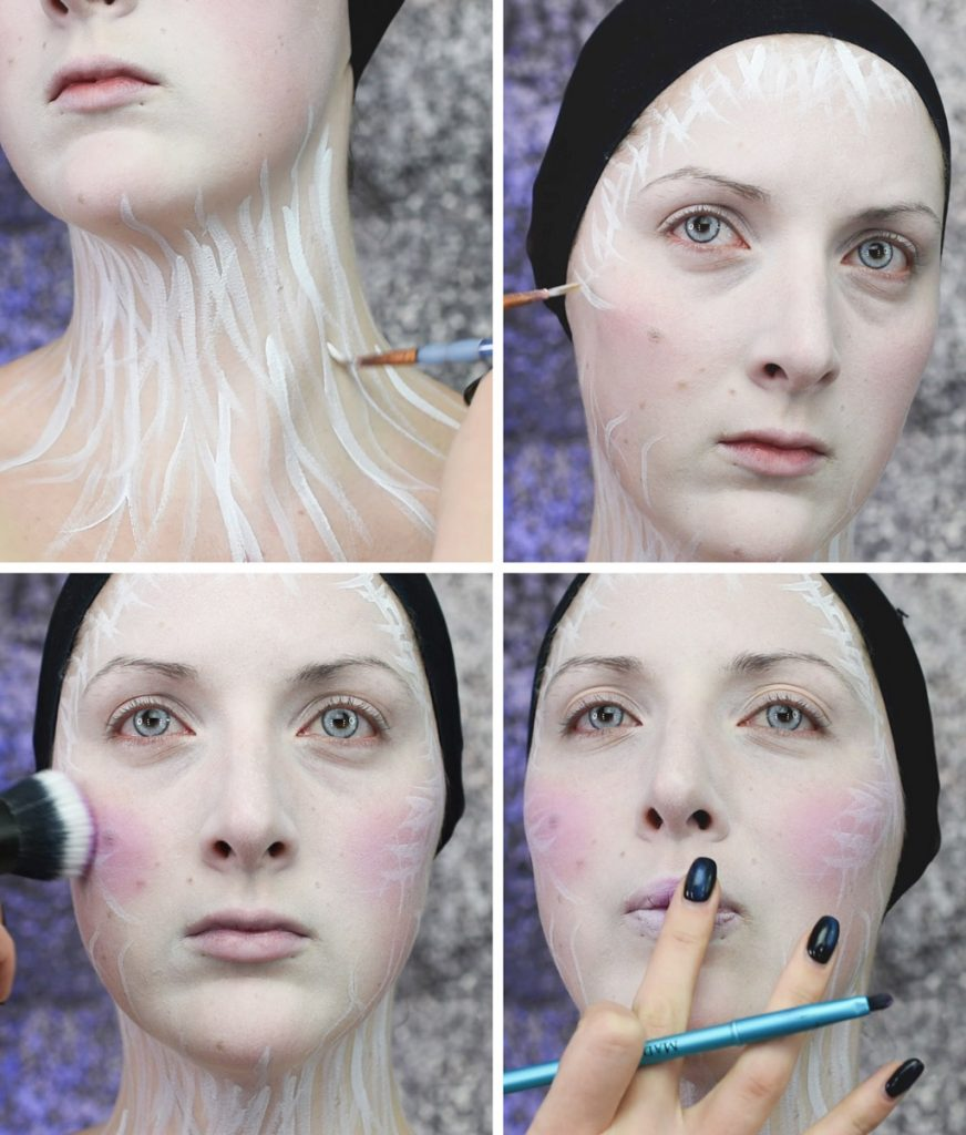 Ice Queen Makeup Tutorial Step 3