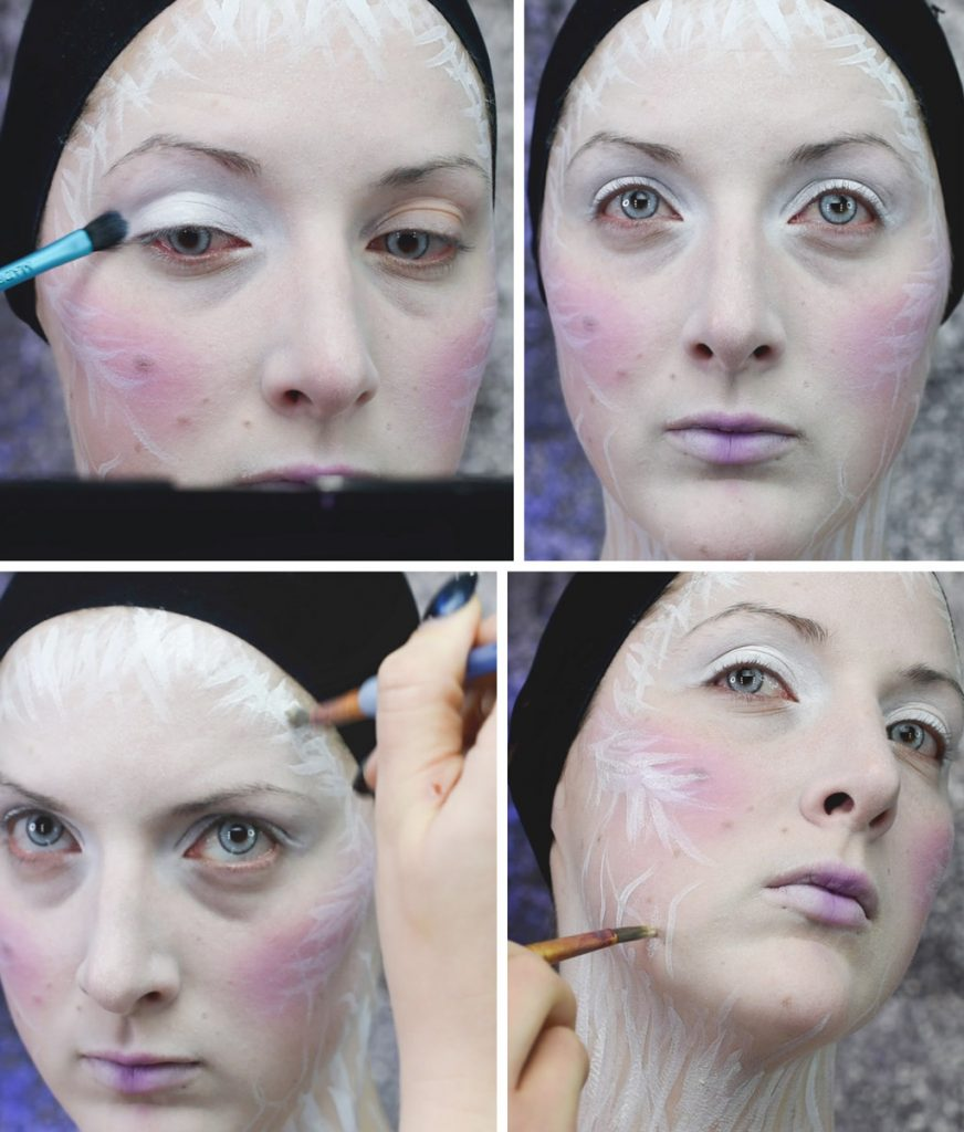 Ice Queen Makeup Tutorial Step 4