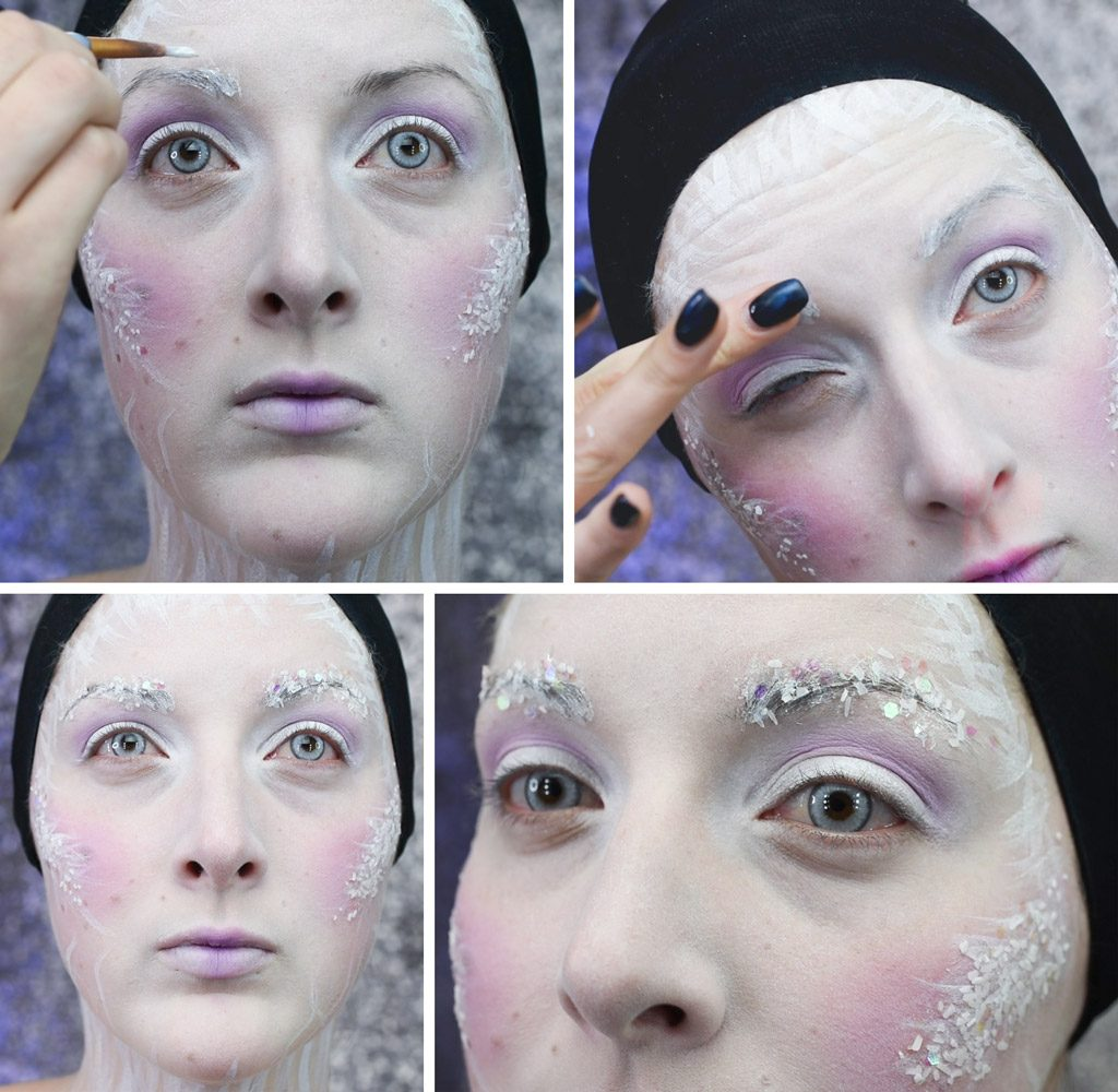Ice Queen Makeup Tutorial Step 7