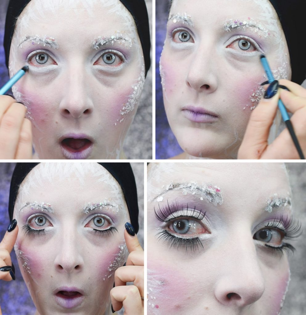 Ice Queen Makeup Tutorial Step 8