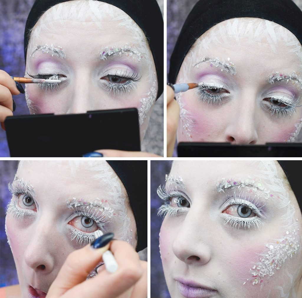 Ice Queen Makeup Tutorial Step 9