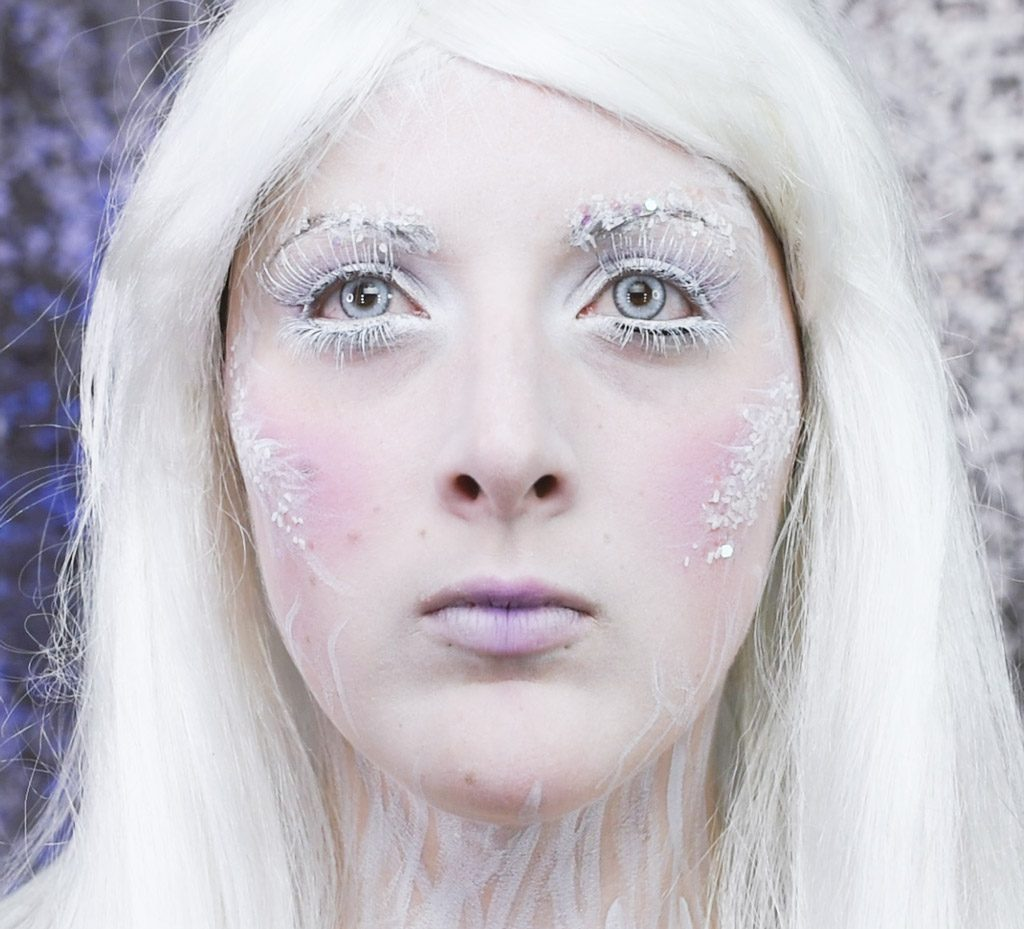 Ice Queen Makeup Tutorial Step 10