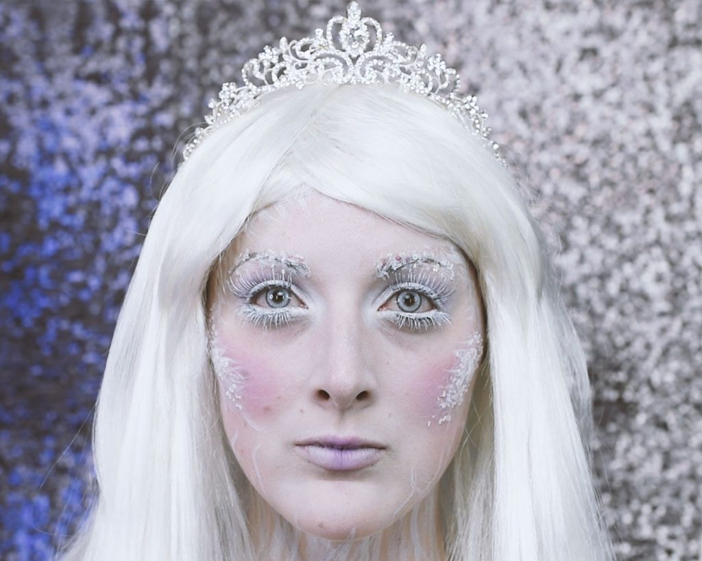 Ice Queen Makeup Tutorial Step 11
