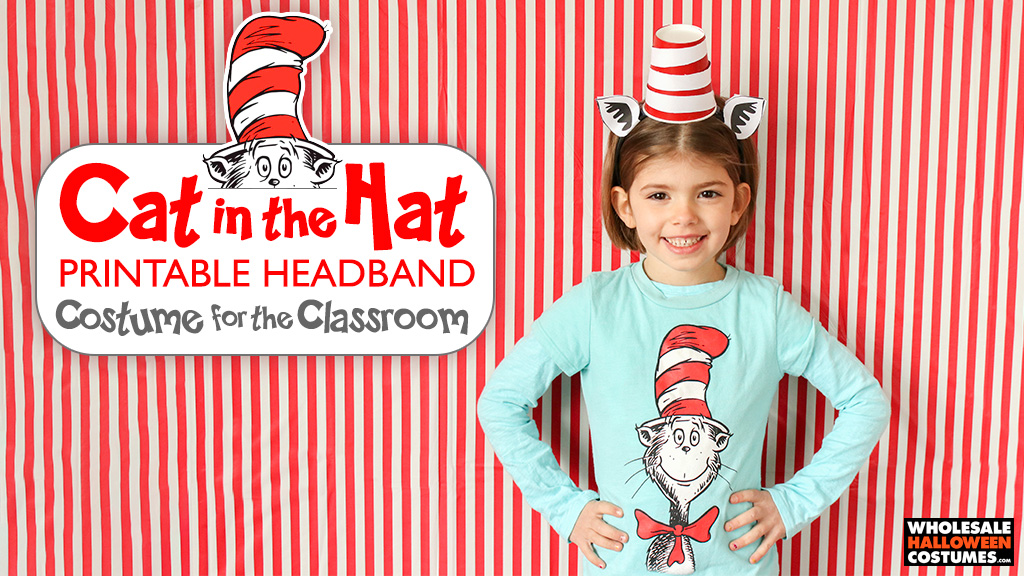 Cat in the Hat Printable Headband Classroom Craft