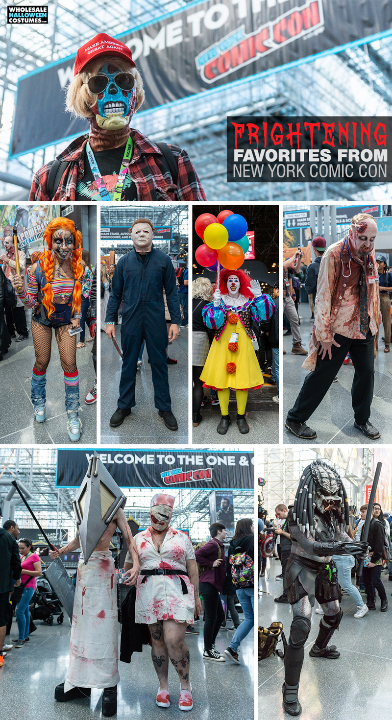 Horror Cosplays at NYCC 2019